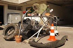 ©Quartierverein Rombachtäli90 Kg Müll QB Putzte mit einem Teil des Teams 2019
