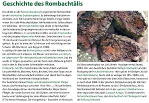 Geschichte des Rombachtälis Aarauer Erzberg