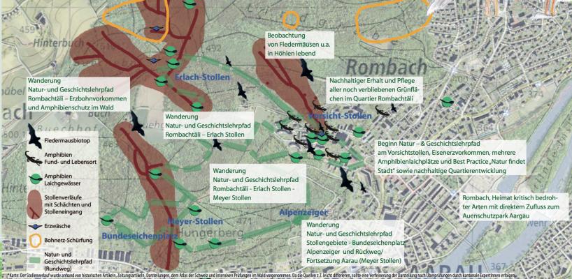 Rombachtäli Geschichts und Naturlehrpfad