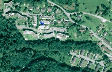 Luftbild 1998 mit noch vorhandenen Grünflächen / Querungskorridoren